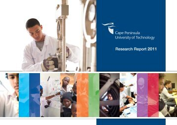 Research Report 2011 - Cape Peninsula University of Technology