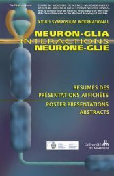 Poster presentations abstracts booklet (pdf, 27 pages, 288 ... - GRSNC