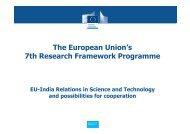 European Union Funding - International Relations