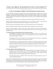 A Call to Protect Egyptian Antiquities, Cultural Heritage - Society for ...