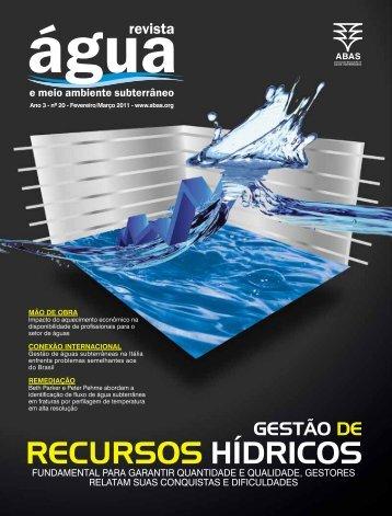 recursos hídricos - ABAS
