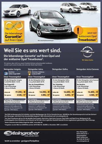Weil Sie es uns wert sind. - Hans Steingraber GmbH & Co. KG