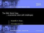 virtual XML - Kristoffer Rose