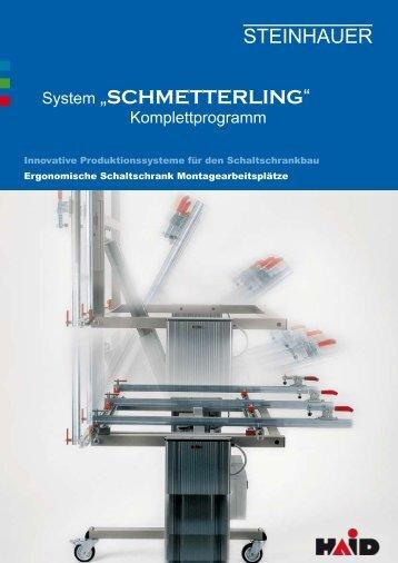 SCHMETTERLING - Steinhauer Elektromaschinen AG