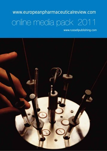 online media pack 2011 - European Pharmaceutical Review