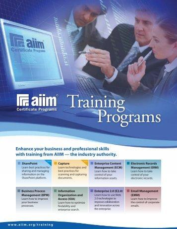 Downloadable - AIIM