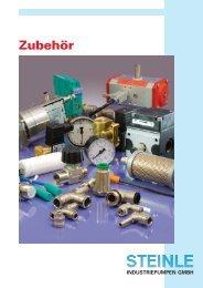 Prospekt Zubehoer-12-2 2011.indd - Steinle Industriepumpen GmbH