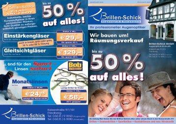 Aktueller Angebotsflyer [PDF, 898KB] - Brillen-Schick