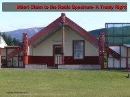 Māori Claim to the Radio Spectrum- A Treaty Right
