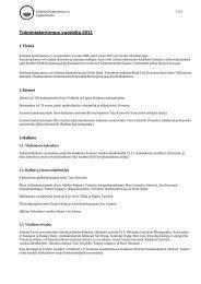 Toimintakertomus vuodelta 2011 - Suomen Kameraseurojen Liitto ry