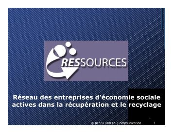 Ethical exportation of second hand products in South - Rreuse