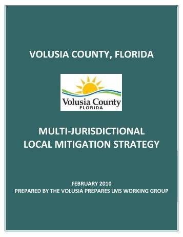 Local mitigation strategy (LMS) - Volusia County Government