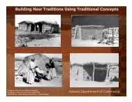 Building New Traditions Using Traditional Concepts - Development ...