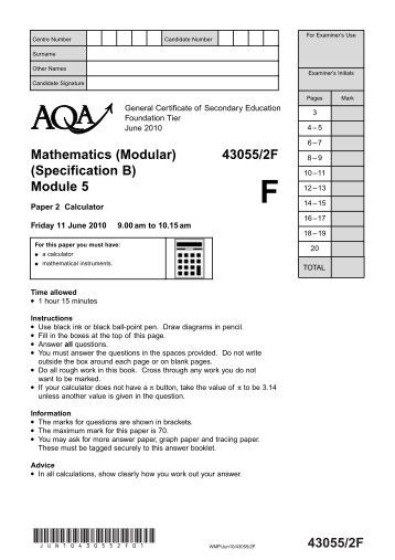 gcse mathematics past papers Each free set of gcse maths past papers contains between 50 and 110 higher and foundation questions based on actual questions from edexcel papers.