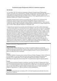 Évaluation du paquet Élargissement 2010 de la Commission ...