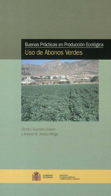 Buenas Prácticas en Producción Ecológica. Uso de abonos verdes