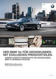 DER BMW 7er FÜR GROSSKUNDEN. MIT EXKLUSIVEN ...