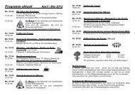 Programm aktuell April / Mai 2012 - Katholische Pfarrgemeinde St ...