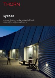 Download Brochure [PDF/2MB] - THORN Lighting