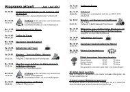 INFORMATIONEN Juni / Juli 2012 - Katholische Pfarrgemeinde St ...