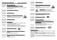 Programm aktuell Aug. / Sept. 2011 - Katholische Pfarrgemeinde St ...