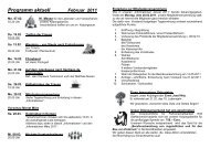 Programm aktuell Februar 2011 - Katholische Pfarrgemeinde St ...