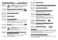 Programm aktuell April / Mai 2011 - Katholische Pfarrgemeinde St ...