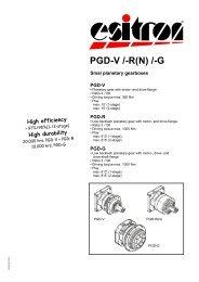 PGD-V /-R(N) /-G - esitron-electronic GmbH