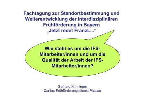 Wie steht es um die Mitarbeiter/innen der IFS - Arbeitsstelle ...