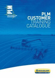 plm™ water control - New Holland