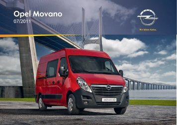 Opel Movano 2012 – Instrukcja obsługi – Opel Polska