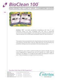 Bioclean BVA Product Data Sheet PDS6.cdr - AM Instruments