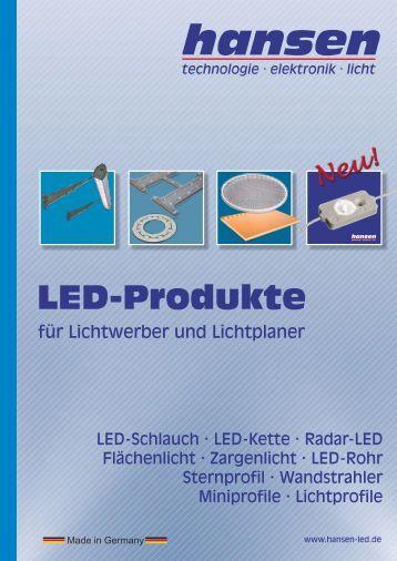 LED-Produkte - Hansen-LED