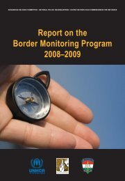 Report on the Border Monitoring Program 2008–2009 - Magyar ...
