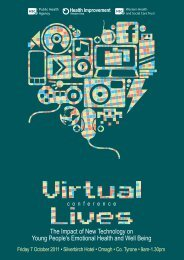 Virtual Lives Conference - 2011 event details - Western Health and ...