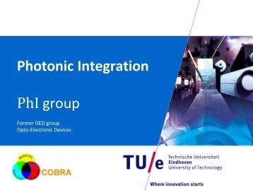 Photonic Integration