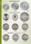Teller mit dem neuen Prägo-Motiv Metallteller Dekorative 5er - Seite 3