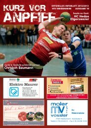 Ausgabe 10 2012/2013 - HTV Meissenheim