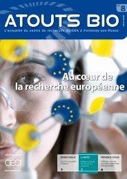 Atouts Bio n°8 - Direction des sciences du vivant - CEA