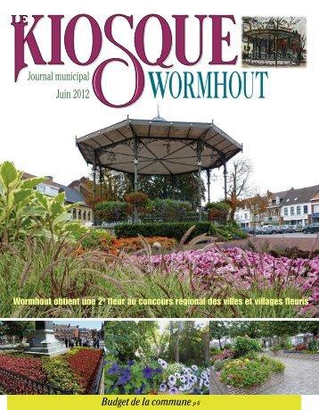 Kiosque juin 2012 - Office municipal de tourisme de Wormhout