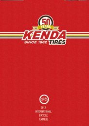 Kenda_2012_BC_Catalog_punchlabel.indd 1 7/26/11 9:43:20 AM