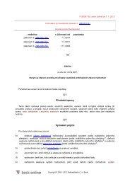 zákon. č. 119/2001 Sb.