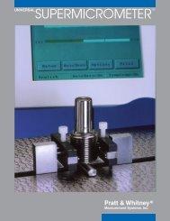 Universal Supermicrometer - Pratt & Whitney