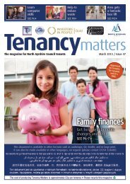 Family finances - Education Resource Service - North Ayrshire Council