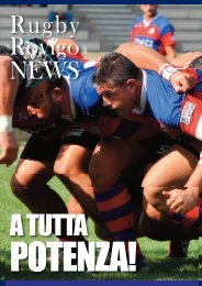 Scarica il Pdf di RugbyRovigoNews - Rovigo Oggi
