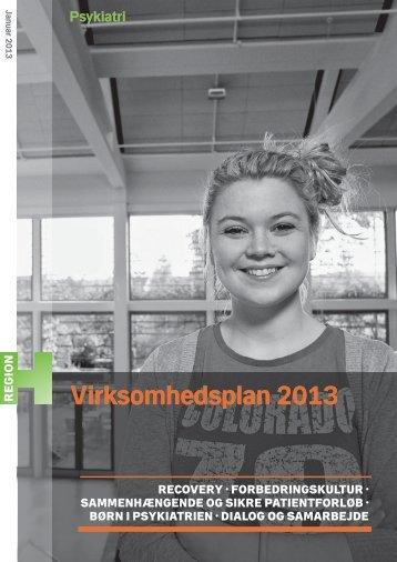 Virksomhedsplan 2013 - Region Hovedstadens Psykiatri