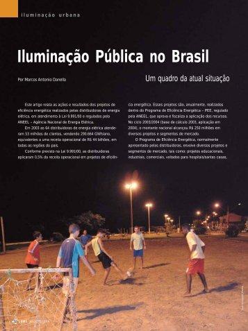 Iluminação Pública no Brasil - Lume Arquitetura