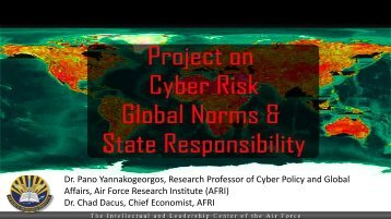Project on Cyber Risk, Global Norms, & State Responsibility, Pano ...