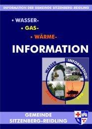 Wasser - Gas - Wärme Information - rohkraft