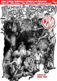 nummer 97 oktober 2003 thema: - CEMP Online